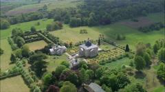 Mereworth Castle Stock Footage