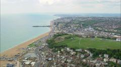 Hastings aerial Stock Footage
