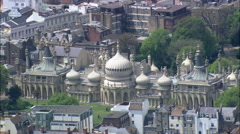 Brighton Pavilion Stock Footage