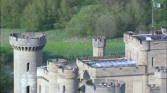Eastnor Castle Stock Footage