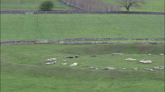 Arbor Low Stone Circle Stock Footage