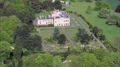 Brodsworth Hall Gardens Stock Footage