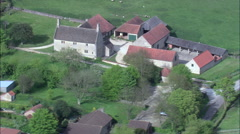 Woolsthorpe Manor Stock Footage