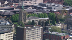 Chelmsford aerial Stock Footage