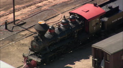 Black Hills Railway Station Stock Footage