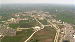 Rapid City aerial Stock Footage
