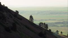 Bear Butte Stock Footage