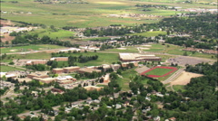 Spearfish aerial Stock Footage