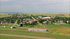 Bison aerial Stock Footage