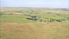 Grand River National Grassland Stock Footage