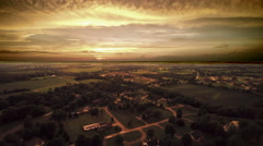 HDR Majestic Missouri Sunset Stock Footage