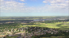 Pierre aerial Stock Footage