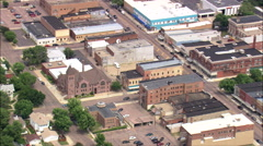Mitchell aerial Stock Footage