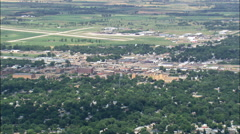 Huron aerial Stock Footage