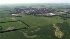 Sisseton aerial Stock Footage