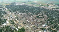 Watertown aerial Stock Footage