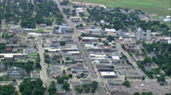 Brookings aerial Stock Footage