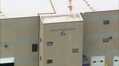 Daktronics aerial Stock Footage
