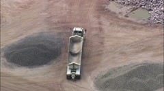 Quartzite Quarry Stock Footage