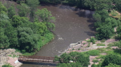 Rapids On Big Sioux River Stock Footage