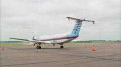 Sioux Falls Airport (Joe Joss Field) Stock Footage