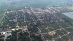 Harrisburg aerial Stock Footage