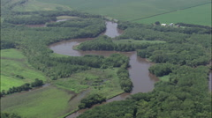 Lower Sioux River Stock Footage