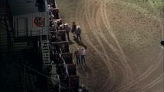 Bull Riding - stock footage