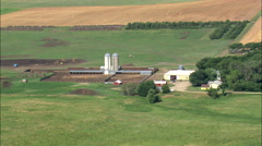 Farms And Farmland Stock Footage