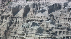 Pinnacles In The Badlands Stock Footage