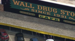 Wall Drug Store Stock Footage