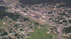 Custer aerial Stock Footage