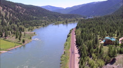 Kootenai River Stock Footage
