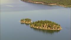 Lake Kootanusa Stock Footage