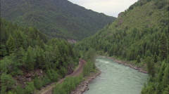 Flathead River Stock Footage