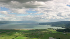 North End Of Flathead Lake Stock Footage