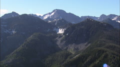 Mission Mountains From The West Stock Footage