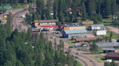Seeley Lake Town Stock Footage