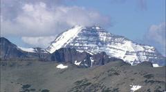 East Side Of Glacier Park Stock Footage