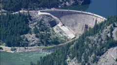 Gibson Dam Stock Footage