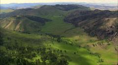 Green Valleys Stock Footage