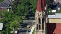 Helena Cathedral Stock Footage
