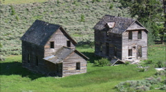 Castle City Ghost Town - stock footage