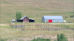 Remote Ranches Stock Footage