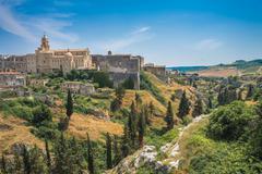 Panoramic view of Gravina in Puglia, Italy Stock Photos