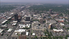 Billings aerial - stock footage
