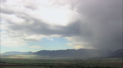 Rainstorm Near Bozeman Stock Footage
