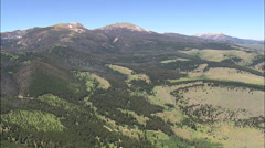 Crossing The Beaverhead Deerlodge National Forest Stock Footage