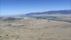 Crossing Madison River Valley Stock Footage