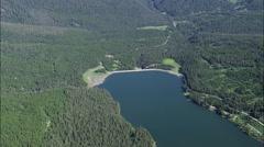 Hyalite Reservoir Stock Footage